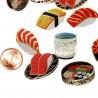 Stickers Sushi. Articles et produits de papèterie japonaise.