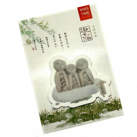 Post-it Ryoen  Jizo. Articles et produits de papèterie japonaise.