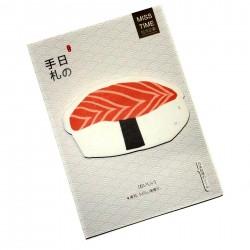 Post-it sushi saumon