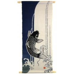 Tapisserie suspendue - Koi no Takinobori - 30x71