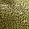 Golden silk fukuro obi - Goshoguruma and Ôgimon motifs