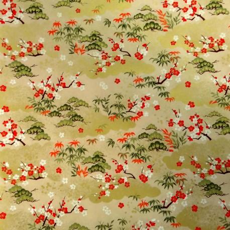 Papier Japonais Washi Yuzen Chiyogami - 97 x 67 cm