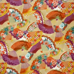 Textile cut 200 x 110 cm - Ôgimon print