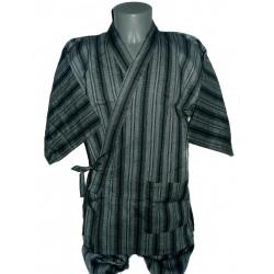 Jinbei 92 night blue - M size - Cotton and Linen