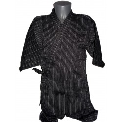 Jinbei 95 black  - L size - Cotton and Linen