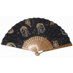 Sensu Fan - Fûjin and Raijin Gods
