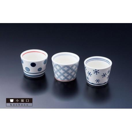 Choko - Bol à saké. Vaisselle et céramique japonaise.