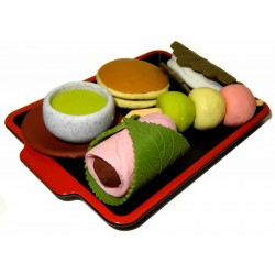Wagashi Erasers - Set of 5pcs
