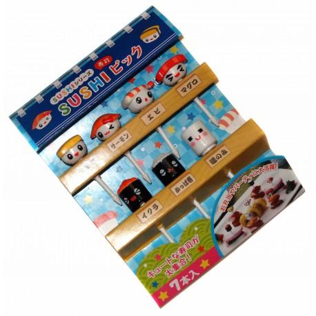 Bento accessories - Sushi decorative picks