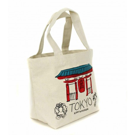 Tote Bag - Tokyo Thick cotton canvas.
