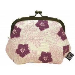 Cotton coin purse - Nadeshiko