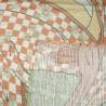 Furoshiki 50x50 - La femme soufflant dans un poppin. Tissu japonais.