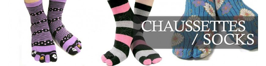 Chaussettes orteils