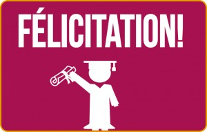 Félicitation