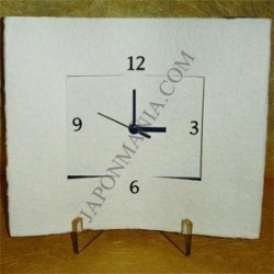 Washi wall or desk clock - Moderne