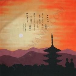 Furoshiki tissu 50x50 - Ballade de Gion