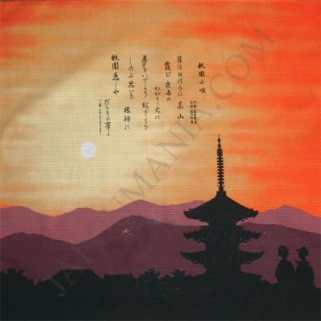 Furoshiki 50x50 - Ballade de Gion