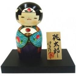 Poupée Kokeshi - Momotarô
