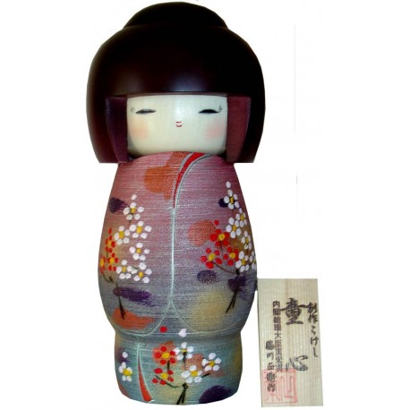 Kokeshi doll - Childish heart