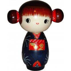 Kokeshi doll - Miss happiness