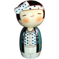 Kokeshi Doll Doll 52 - Heave-Ho ! - Man
