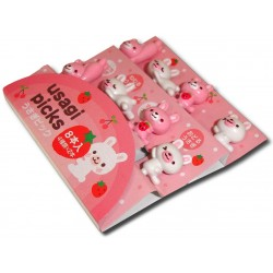 Bento accessories - Usagi decorative picks