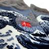 Chaussettes japonaises Tabi - Du 35 au 39 - Grande vague d'Hokusaï