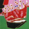 Tenugui Collection Fuku Neko - Maiko