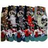 Tabi socks Size 39 to 43 - Fuji Koi and Sakura cherry blossoms