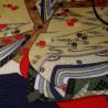 Furoshiki 67x67 blue and red - Hime prints