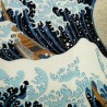 Furoshiki 67x67 - Hokusaï's Great Wave