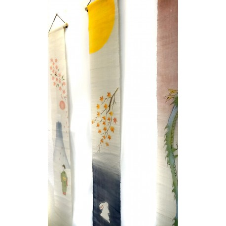 Slim hanging tapestry - Kôyô (momiji) Usagi