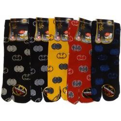 Mid-crew Tabi socks - Size 39 to 43 - Koumori-mon