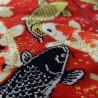 Tabi socks and japanese socks Size 39 to 43 - Koi carps prints