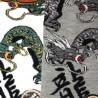 Tabi socks Size 39 to 43 - Ryû Dragons prints