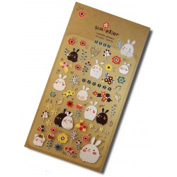 Usagi & Co stickers