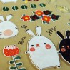 Usagi & Co stickers - Japanese and Korean stationery