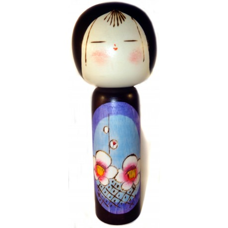 Kokeshi doll - Ume - Wooden Japanese doll
