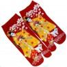 Chaussettes japonaises Tabi - Du 35 au 39 - Maiko - Chaussettes à orteils