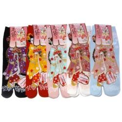 Tabi socks - Size 35 to 39 - Maiko