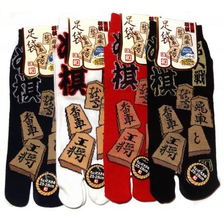 Chaussettes japonaises Tabi - Du 39 au 43 - Shōgi - Chaussettes orteils