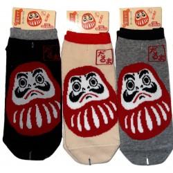 No-Show socks Size 39 to 43 - Daruma print