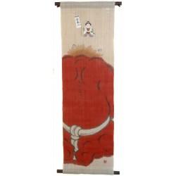 Tapisserie suspendue - Momotarô - 30x100