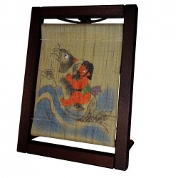 Mini Tapestry in frame - Kintaro - 17x10