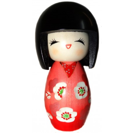 Kokeshi doll - Baika. Traditional Japanese wooden doll