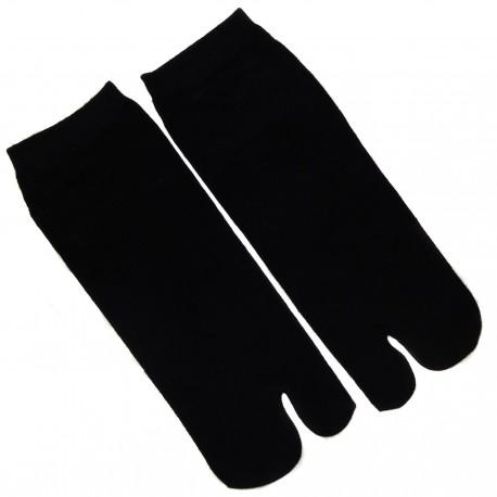 Chaussettes japonaises tabi noires - Pointure 39 à 43