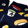 Chaussettes japonaises Tabi - Du 39 au 43 - Sushi & Co. Chaussettes pour tongs à orteils séparés.