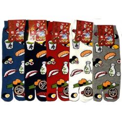 Chaussettes japonaises tabi - Du 39 au 43 - Autour du sushi.