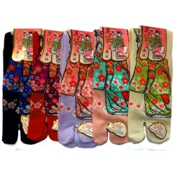 Crew Tabi socks - Size 35 to 39 - Maiko