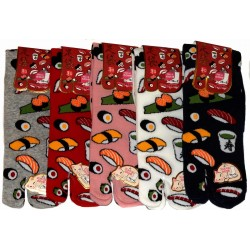Crew Tabi socks - Size 35 to 39 - Sushi & Co
